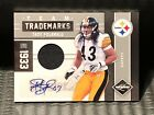 #01 25 Troy Polamalu 2011 Limited Autograph Jersey Team Trademarks Auto Steelers