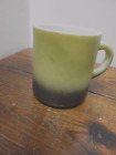 Vintage FIRE KING AVOCODA and BLACK C Handle MUG/CUP-Pre owned