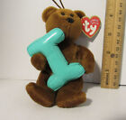 TY Teddy Bear LETTER INITIAL NAME
