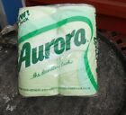 Vintage NOS Toilet Paper Colored Mint Green 4 Pack