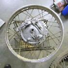 19 INCH TWIN LEADING SHOE FRONT BRAKE AND WHEEL