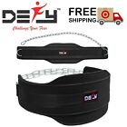 Weight Lifting Neoprene Dipping Belt Exercise Fitness Gym Body Building Belt New