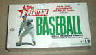 2013 Topps Heritage baseball factory sealed hobby box Trout 1st Heritage action?