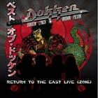 DOKKEN - RETURN TO THE EAST: LIVE 2016 USED - VERY GOOD CD
