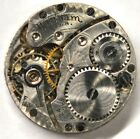 ART DECO WALTHAM USA POCKET WATCH MOVEMENT FOR PARTS REPAIRS 513