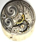 ART DECO ELGIN POCKET WATCH MOVEMENT 38mm FOR SPARES REPAIRS PA36
