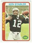 The Snake Enters the Hall of Fame! Top 10 Ken Stabler Football Cards 18