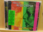 The Best of Alice Cooper Mascara & Monsters CD 2001 Rhino Rock NEW case cracked