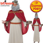CA842 Melchior 3 Three Wise Man Kings Adult Christmas Nativity Biblical Costume