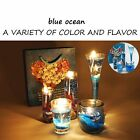 Jelly Candle making Glass Ocean Series Birthday candle Gift Party Decoration