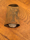 Vintage Antique Metal  Cowbell Old Farmhouse Decor Barn Farm