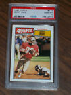 1987 Jerry Rice, #115 Topps, PSA 10, San Francisco 49ers