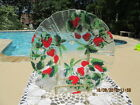 SYDENSTRICKER GALLERIES FUSED ART GLASS WAVY LARGE FRUIT BOWL MINT SIGNED
