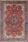 Overwhelming Design Vintage Palm Tree Najafabad Persian Oriental Area Rug 9x12