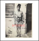 Vintage photo Moro warrior barong sword Philippines 1927 large LOOK kris