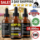 2500 mg Organic Hemp Seed Oil Drops Pain Relief Anti-Inflammatory Joint Support