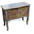 Cabinet TV Stand Rustic Reclaimed Wood W/ Patina Nightstand table