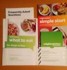 Weight Watchers 2015 Program Get Started Kit + Pocket Guide And Recipes