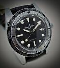 VINTAGE ULYSSE NARDIN DATE DIVER SWISS WATCH AUTOMATIC WATCH WORLD TIME 38MM