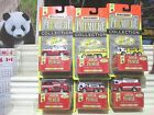 Matchbox 1997 Premiere World Class 7 SIX FIRE Trucks New in Mint Boxes + Packs