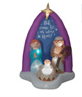 Lighted Nativity Christmas Inflatable Indoor Outdoor Yard Decoration 6 Ft