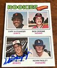 Dale Murphy Braves MVP 1977 Topps #476 Signed Auto RC Rookie Card