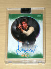 2017 Topps Star Wars Stellar Signatures GREEN autograph Harrison Ford HAN 6 20