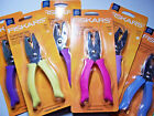 New FISKARS Hole Punch Choose from Circle Star Heart Rectangle Paper Craft Tools