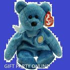 CLASSY the Bear TY Beanie Baby >Plush stuffed collectible toy