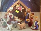 Bucilla Nativity Set Felt Home Decor Craft Kit 85263 New In Package Retired