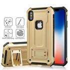 Armor Heavy Duty Shockproof Kickstand Cover Case For iPhone  Samsung Phone