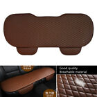 Durable 133cmx49cm Car Rear Seat Cover Protector Cushion PU Leather Coffee Color