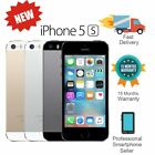 New Apple iPhone 5S 16GB 32GB 64GB Factory Unlocked Mobile Smartphone Various US
