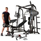 Marcy Diamond Elite MD9010G Smith Machine Home Multi Gym  140kg Olympic Weights