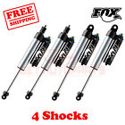 Kit 4 Fox Shocks 4-6 lift Front & Rear for 08-10 Ford F350 4WD