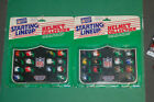 1989 Helmet Collection AFC NFC SLU Starting Lineup statue figure Kenner lot