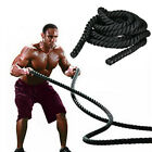 15 30 40 50 Heavy Battle Ropes Exercise Training Rope Fitness Gym Equipment