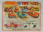 Matchbox 75 Two Packs TP 10 Fire Chief  Ambulance Mint W Package Never Opened