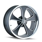 CPP Ridler 645 wheels 18x8 + 20x85 fits OLDSMOBILE CUTLASS 442 F85