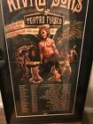 rival sons concert poster. Signed by all members of the band. Dry mounted.