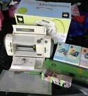 Pre Owned Personal Electronic Cutter Cricut Machine Model crv001 with cartridges