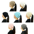Women's Bubble Knit Slouchy Baggy Beanie Oversize Winter Hat Ski Cap Stylish and