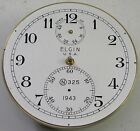 VINTAGE 1943 ELGIN 600 SHIPS MARINE CHRONOMETER DECK CLOCK MOVEMENT PARTS REPAIR
