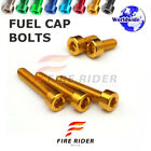 FRW 6Color Fuel Cap Bolts Set For Yamaha YZF1000R THUNDERACE 96-03 98 99 00 01