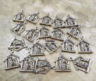 20 Pewter Nativity Scene Charms 5140