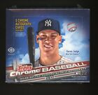 2017 Topps Chrome Baseball Sealed Unopened Jumbo Hobby Box Judge RC Year