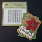 NEW Stampin Up RETIRING Cable Knit Dynamic Textured Impressions Embossing Folder