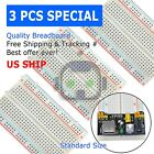 3X Mini 400 Point Solderless Prototype PCB Breadboard Protoboards US
