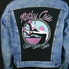 Motley Crue Levis Denim Jean Jacket VTG Red Tab Blue Trucker Girls Mens Medium