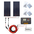 320W Solar System 2 x160W Solar Panel+20A controller for 12V Home Battery Power